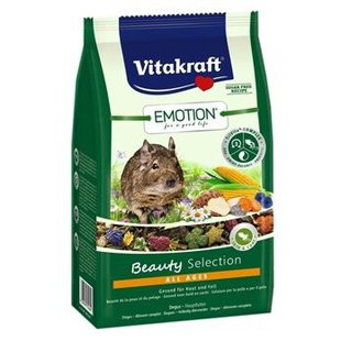 Корм для дегу Vitakraft Emotion Beauty Selection All Ages