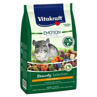 Корм для шиншилл Vitakraft Emotion Beauty Selection