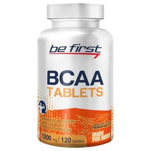 BCAA Be First BCAA Tablets (120 шт.)