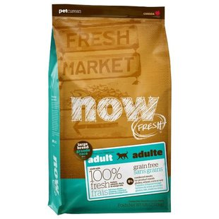 NOW FRESH (11.35 кг) Grain Free Large Breed Adult Recipe