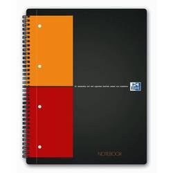 Тетрадь A4+ на спирали 80 л клетка (Oxford International Notebook) (100103664)