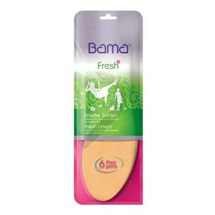 Стельки для обуви Bama Fresh for her, 6 пар