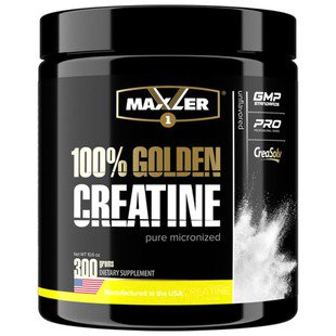 Креатин Maxler 100% Golden Creatine 300 г