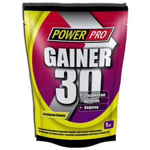 Гейнер Power Pro Gainer 30 (1000 г)