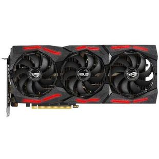 ASUS GeForce RTX 2060 SUPER 1470Mhz PCI-E 3.0 8192Mb 14000Mhz 256bit DisplayPort HDMI HDCP ROG STRIX GAMING (ROG-STRIX-RTX2060S-8G-EVO-GAMING) RTL