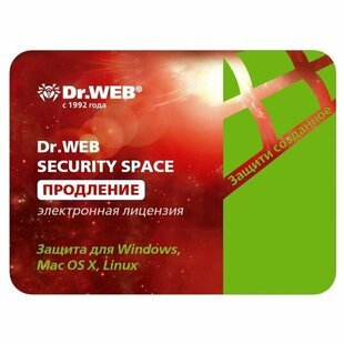 Антивирус Dr.Web Security Space - продление